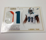 Panini America 2013 National Treasures Football Christmas Peek (99)