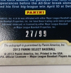Panini America 2013 Select Baseball QC (138)
