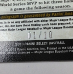 Panini America 2013 Select Baseball QC (148)