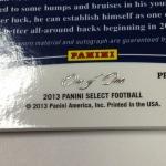 Panini America 2013 Select Football QC Gallery (107)