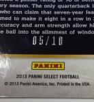 Panini America 2013 Select Football QC Gallery (16)