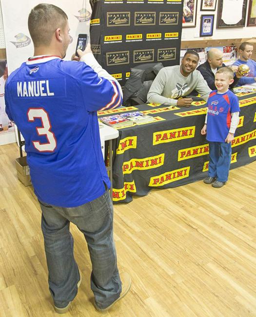 Panini Authentic EJ Manuel Public Signing (3)