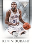 2013-14 Titanium Basketball Durant Base