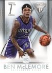 2013-14 Titanium Basketball McLemore