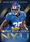 New York Giants Panini America Super Bowl XLVIII Collection (2)