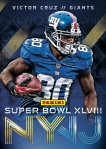 New York Giants Panini America Super Bowl XLVIII Collection (4)