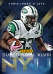 New York Jets Panini America Super Bowl XLVIII Collection (2)