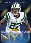 New York Jets Panini America Super Bowl XLVIII Collection (9)