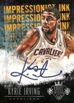 Panini America 2013-14 Court Kings Basketball Kyrie