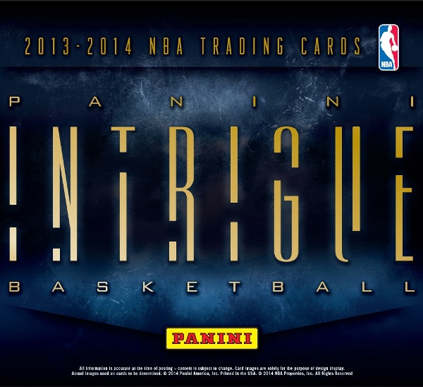 Panini America 2013-14 Intrigue Basketball Main