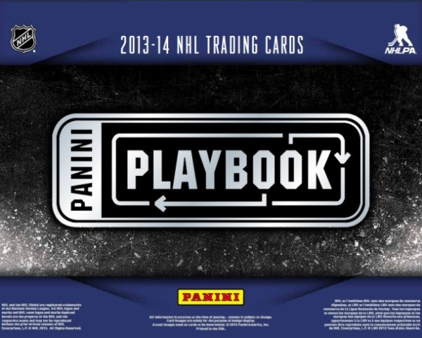 Panini America 2013-14 Playbook Hockey Main