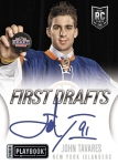 Panini America 2013-14 Playbook Hockey Tavares