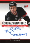 Panini America 2013-14 Social Signatures Anthony Stewart