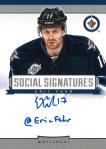 Panini America 2013-14 Social Signatures Eric Fehr