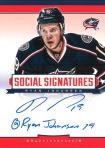 Panini America 2013-14 Social Signatures Ryan Johansen