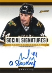 Panini America 2013-14 Social Signatures Sheldon Souray