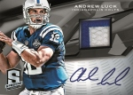 Panini America 2013 Spectra Football Preview Luck
