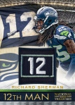 Panini America Richard Sherman Gamer 12th Man