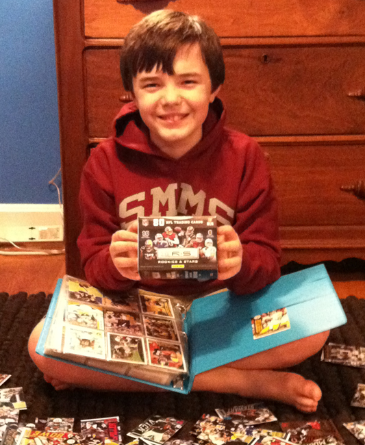 Panini America Super Bowl Kid Reporter Curtis Case