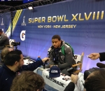 Panini America Super Bowl XLVIII Media Day 11