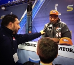 Panini America Super Bowl XLVIII Media Day 21