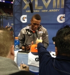 Panini America Super Bowl XLVIII Media Day 24