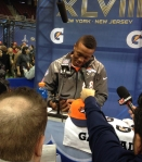 Panini America Super Bowl XLVIII Media Day 25