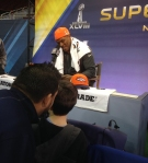 Panini America Super Bowl XLVIII Media Day 33