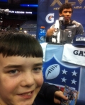Panini America Super Bowl XLVIII Media Day 44