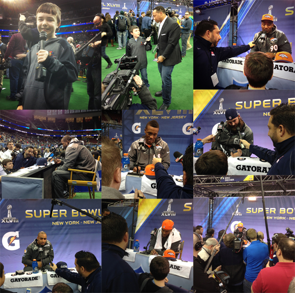 Panini America Super Bowl XLVIII Media Day Main