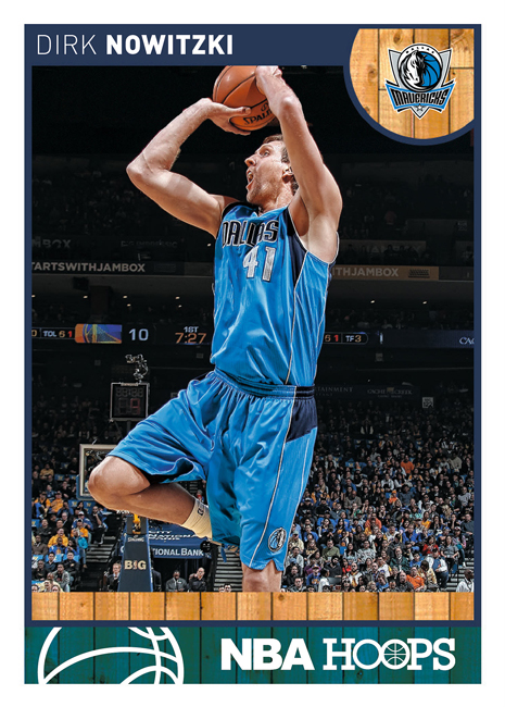 February 18 Nowitzki Hoops Front