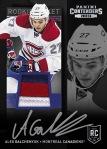 Panini America 2013-14 Contenders Hockey Galchenyuk