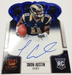 Panini America 2013 Crown Royale Football New Autos (1)