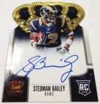 Panini America 2013 Crown Royale Football New Autos (5)