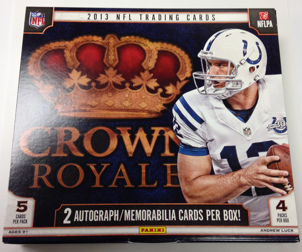 Panini America 2013 Crown Royale Football Retail QC (1)