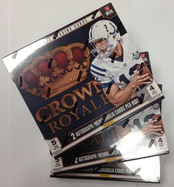 Panini America 2013 Crown Royale Football Retail Teaser (1)