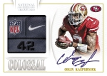 Panini America 2013 National Treasures Football Kaepernick