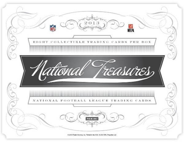 Panini America 2013 National Treasures Football Main