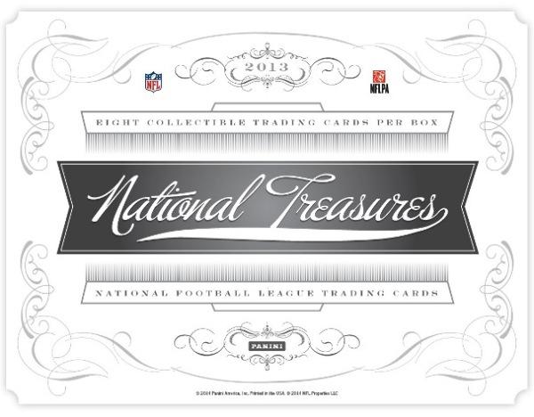 Panini America 2013 National Treasures Football Main