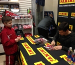 Panini America 2014 Adam Henrique Signing (10)