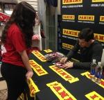 Panini America 2014 Adam Henrique Signing (13)