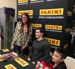 Panini America 2014 Adam Henrique Signing (17)