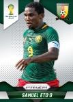 Panini America 2014 FIFA World Cup Brazil Prizm Eto'o