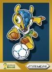 Panini America 2014 FIFA World Cup Brazil Prizm Fuleco