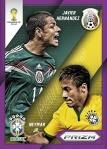 Panini America 2014 FIFA World Cup Brazil Prizm Hernandez Neymar