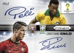 Panini America 2014 FIFA World Cup Brazil Prizm Pele Ronaldo