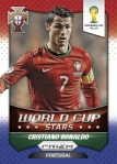 Panini America 2014 FIFA World Cup Brazil Prizm Ronaldo Power Plaid