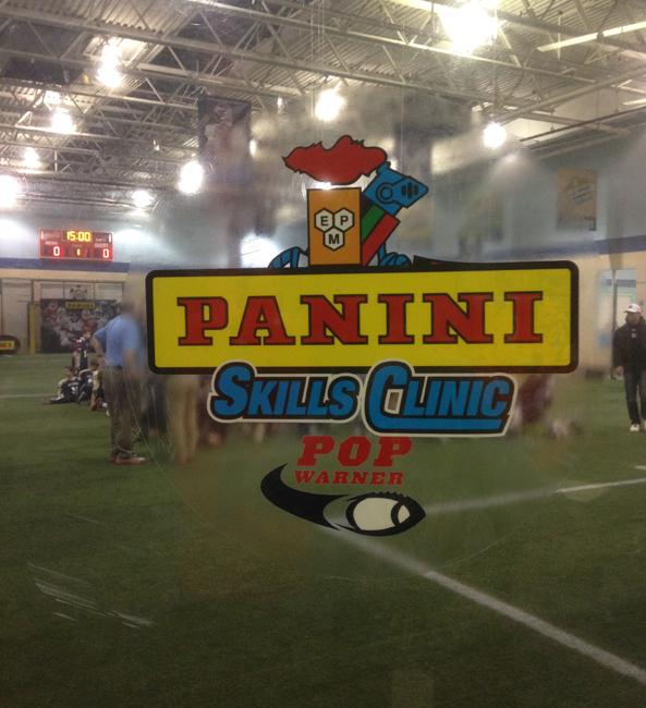 Panini America 2014 Pop Warner Skills Clinic (5)