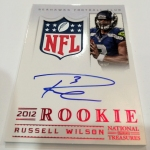 Panini America Russell Signs 13