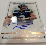 Panini America Russell Signs 20